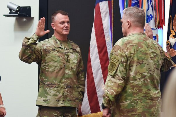 Gen. Paul E. Funk is a part of the Army chain of command