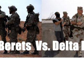 green berets vs delta force