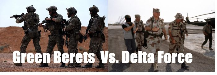 green berets vs delta force