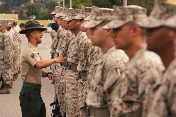 marine police officer