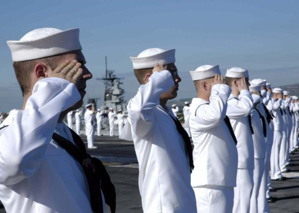 navy core values - honor courage commitment