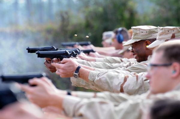navy pistol qualification