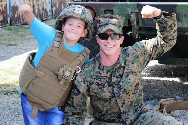 strong military families are vital for a strong armed forces