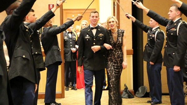 ROTC programs hold military balls, as well
