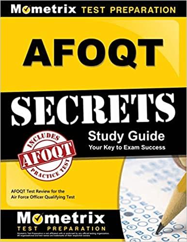 afoqt study secrets test prep