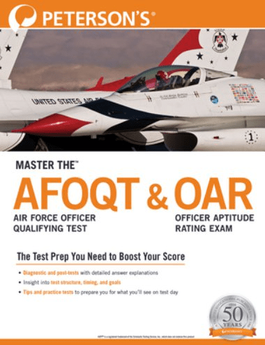 petersons master the afoqt and oar study guide