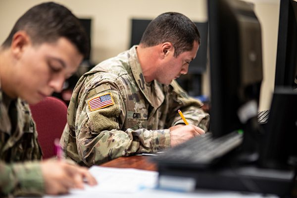 the GI Bill makes college possible for soldiers
