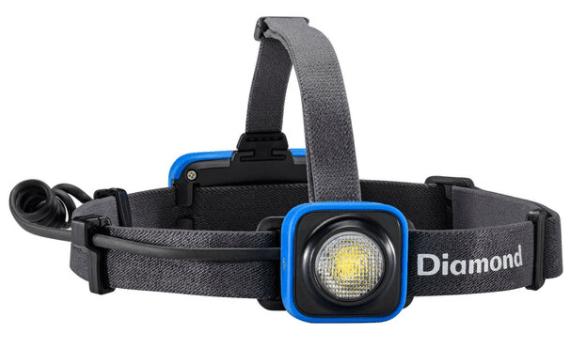 black diamond sprinter rechargeable 200 lumen headlamp