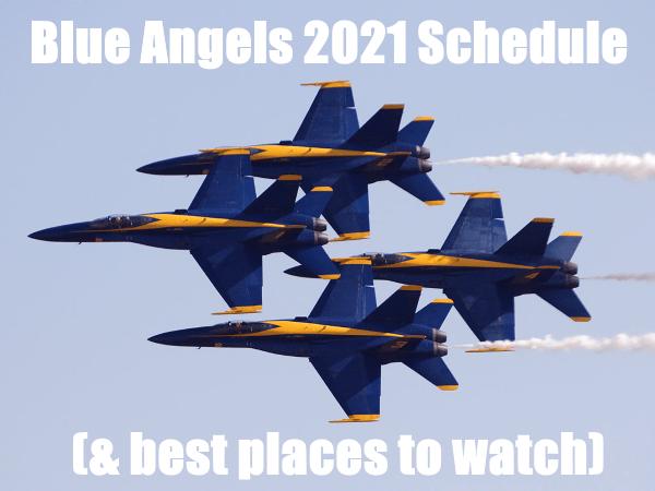 blue angels schedule 2021