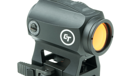cts-1000 compact tactical red dot sight