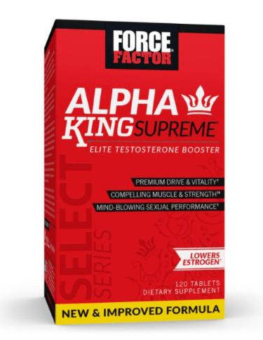 force factor alpha king supreme gnc testosterone booster