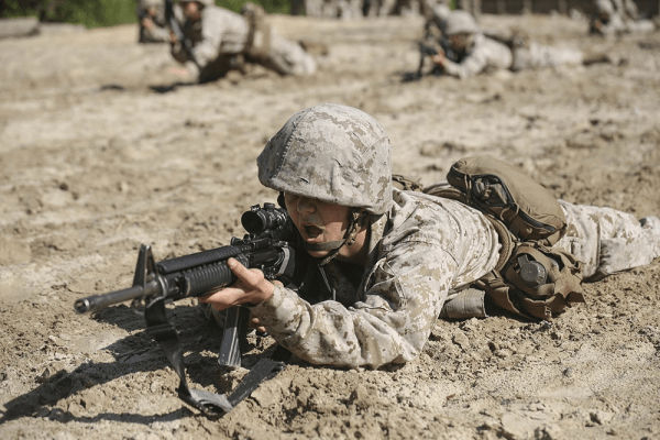 The marines are often considered the hardest military branch