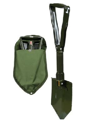 Tri-Fold E-Tool Shovel with Cover