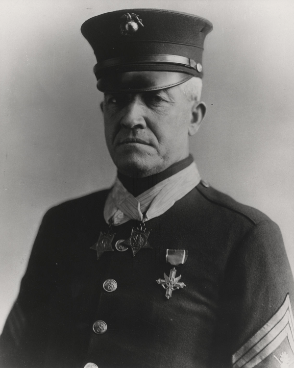 Daniel Daly is one of the most famous marines