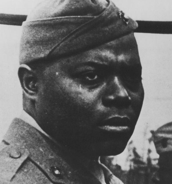 Gilbert H. Hashmark Johnson famous marine