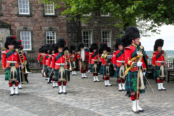 Best Military Uniform - The Band of the Royal Regiment of Scotland in Edinburgh Castle