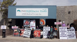 University of New Mexico's Abortion Clinic Forced Out Due To Pro-Life Campaign