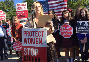 Pro-Lifers Make Strong Statement Against Unlicensed Late-Term Abortions in Bethesda