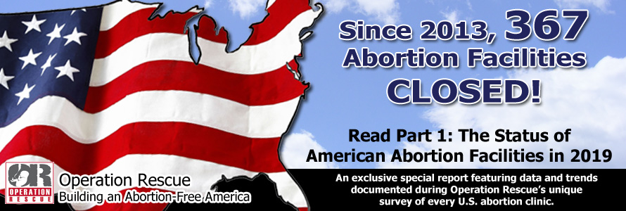 New Survey: Since 2013, 367 Abortion Facilities Closed!