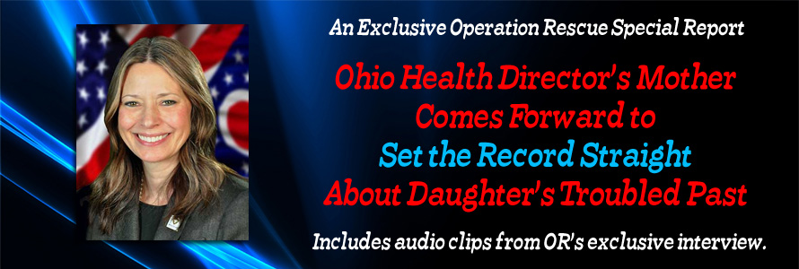 Ohio Health Director's Mother Comes Forward to Set the Record Straight About Daughter's Troubled Past