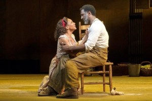 "Audra McDonald and Norm Lewis in ""Porgy and Bess"" on Boradway"