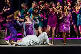 Parsifal with the flower maidens at the Royal Opera House