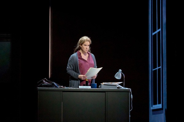 Alice Coote in Nico Muhly's Two Boys at the Metropolitan Opera (photo credit: Ken Howard/Metropolitan Opera)