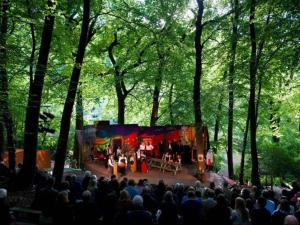 Woodhouse Opera's outdoor stage.