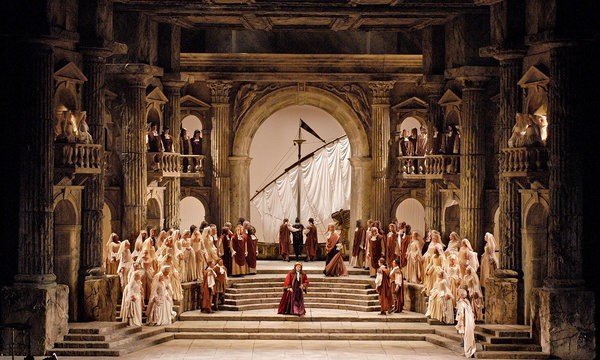 La clemenza di Tito at the Metropolitan Opera. Photo: Marty Sohl.