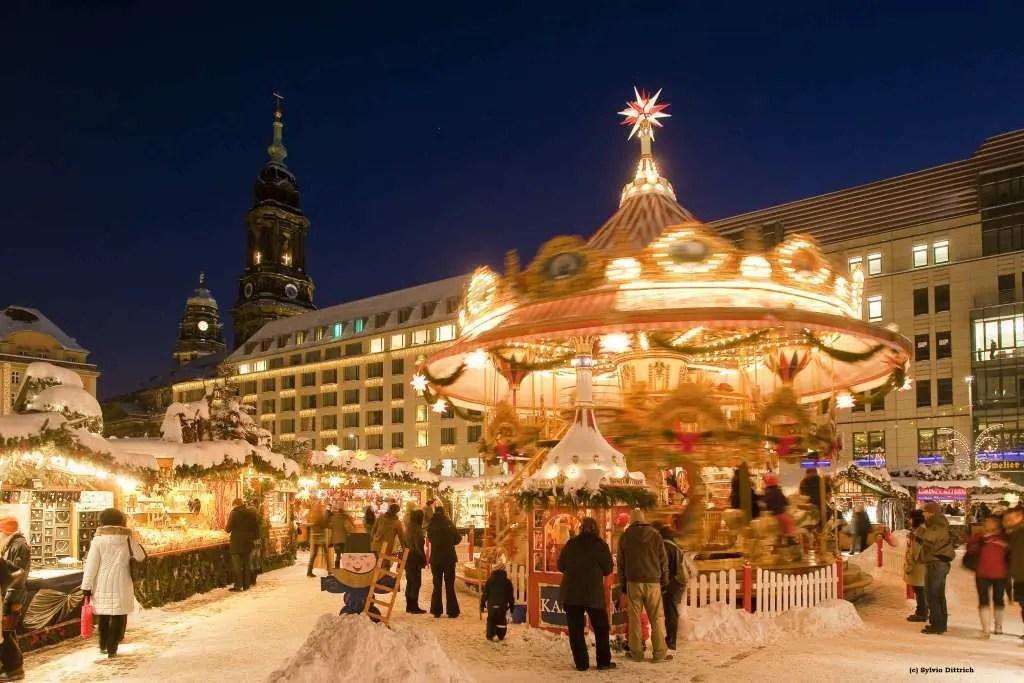 Dresdner Altmarkt - Symbol des schönen Dresdens
