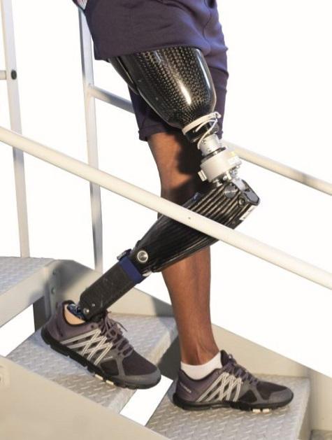 SPCM de Proteor, la jambe mécatronique (Image Opex 360).