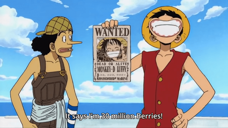 However, with each new outrageous exploit luffy and his crew have accomplished, their views on him have changed. The Evolution Of Luffy S Bounties From 1997 To 2018 One Piece