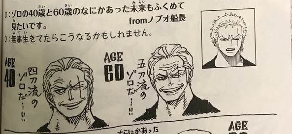 Garp's eyes were the same as luffy's, big and round. How One Piece Characters Would Look At 40 And 60 Years Old One Piece