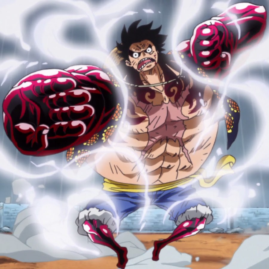 Jual action figure pvc 17cm one piece gear fourth monkey d luffy untuk. All Forms of Luffy's Gear 4th - ONE PIECE Fanpage