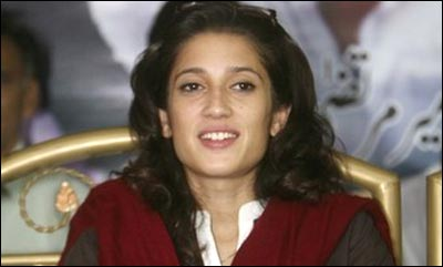 Fatima Bhutto to run for Benazir Bhutto's seat in coming polls