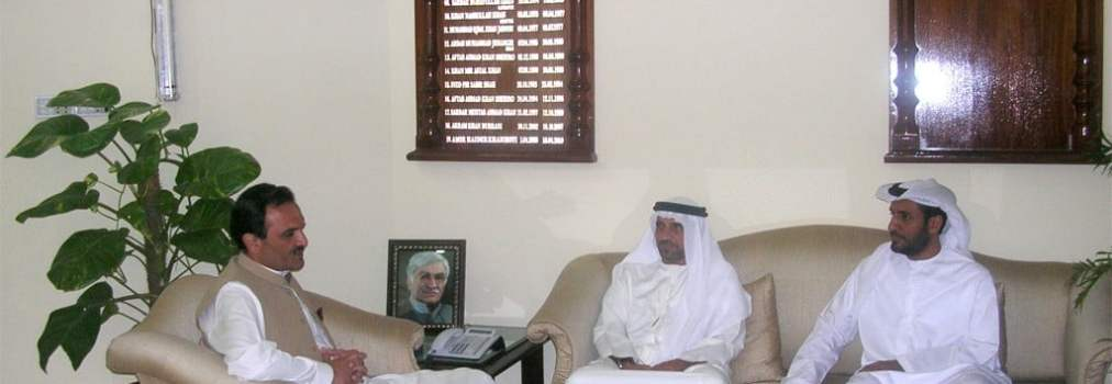 Secretary General of UAE Red Crescent meets with chief minister of Khyber Pakhtoonkhwa
