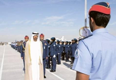 HH Sheikh Mohammed bin Zayed Al Nahyan, the Crown Prince of Abu Dhabi and Deputy Supreme Commander of the UAE Armed Forces