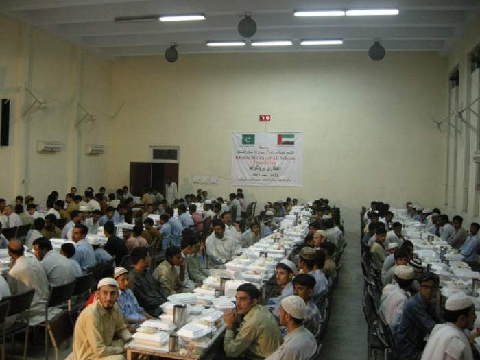 UAE Embassy hots iftaris for poor