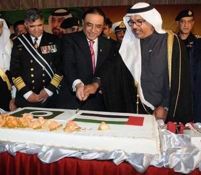 President Zardari graced 41th UAE National Day celebrations