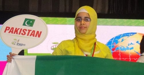 Pakistani student wins silver medal at INEPO