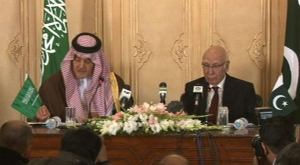 saudiaforeignministerandsartajazeez-pakistan-Musharraf_1-7-2014_133271_l
