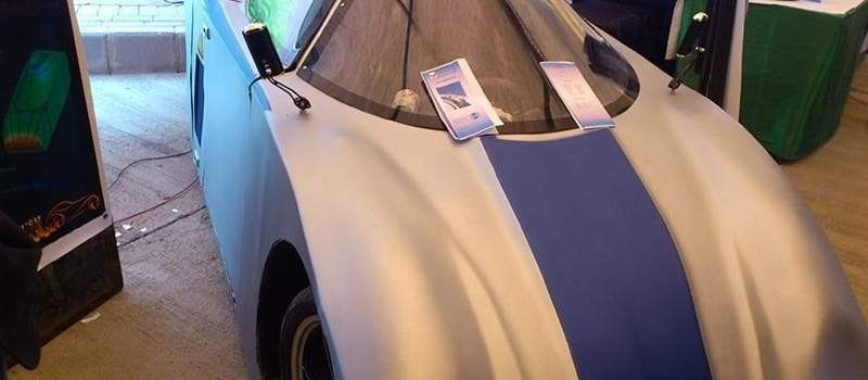 COMSATS Students manufacture aerodynamic car