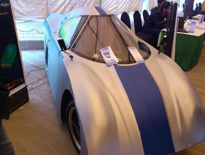 COMSATS Students manufacture aerodynamic car