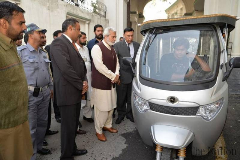 Solar, electric rickshaws to run in Peshawar soon