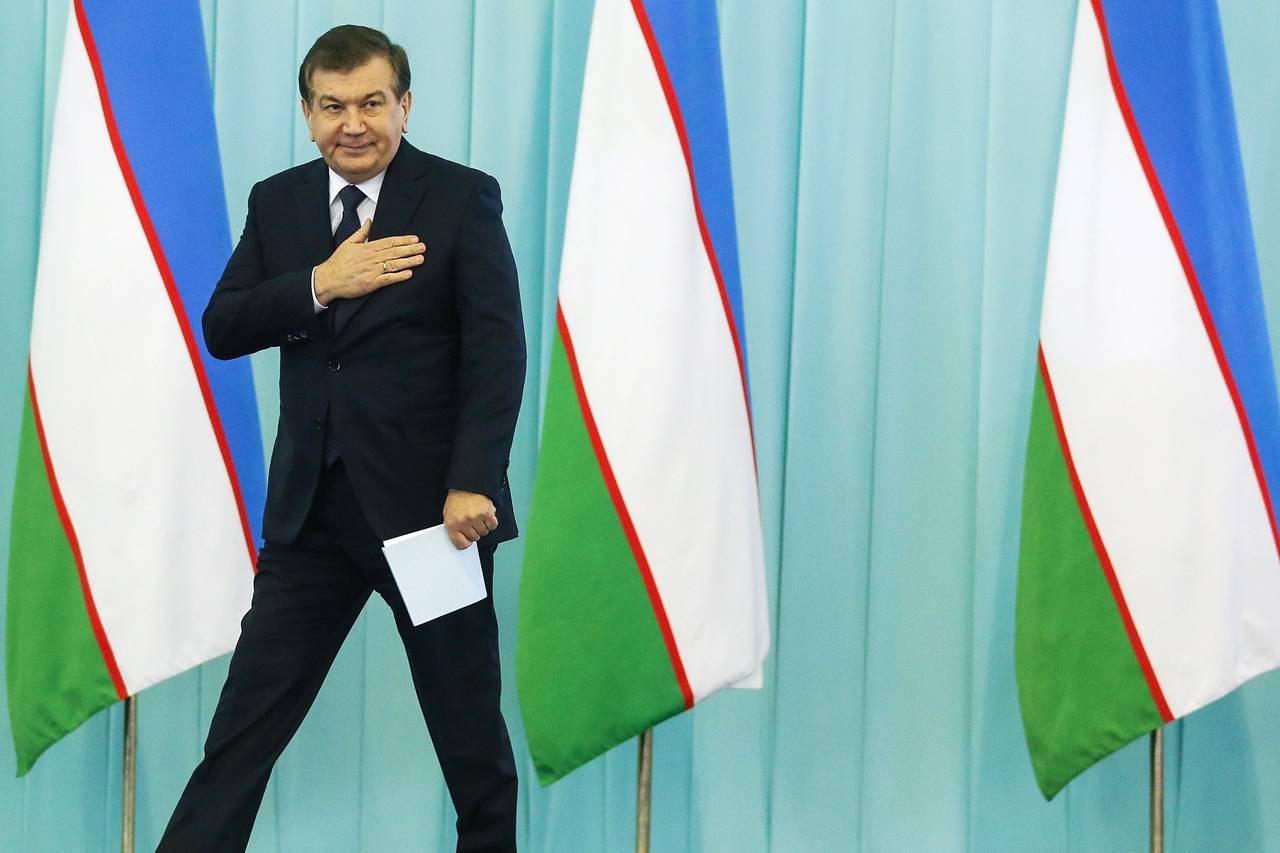 NEW LEADER OF UZBEKISTAN