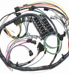 el camino dash instrument panel harness column shift auto trans tap to enlarge [ 1200 x 909 Pixel ]