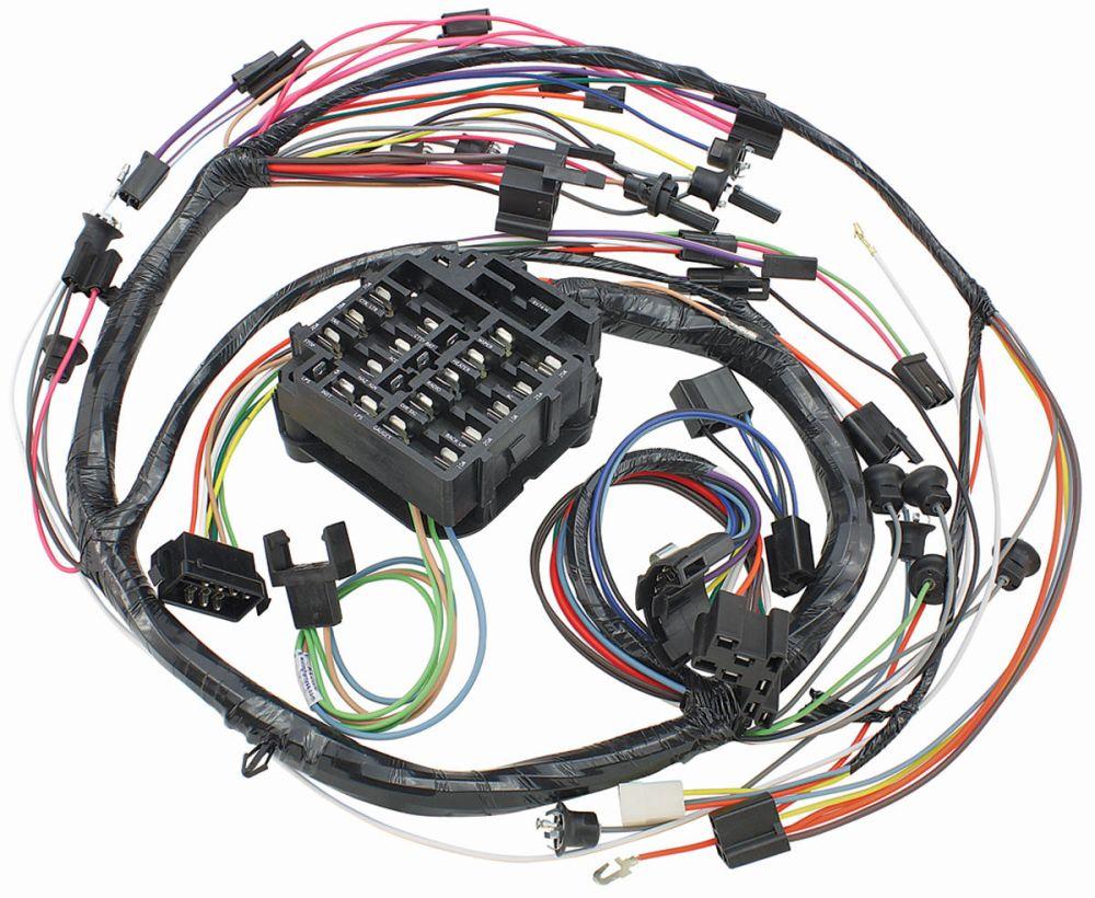medium resolution of el camino dash instrument panel harness console auto manual w gauges tap to enlarge