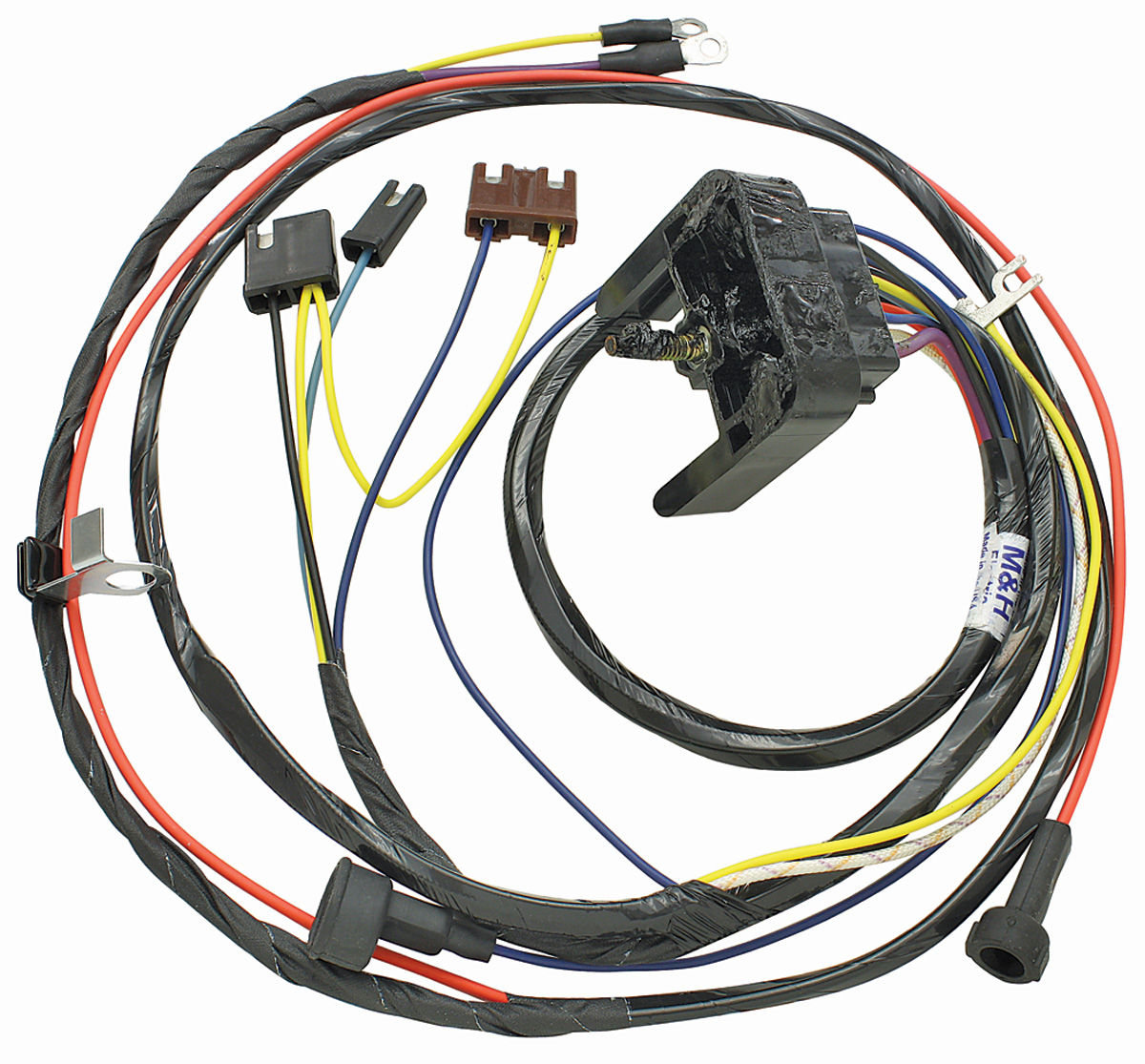69 Chevelle Engine Harness 396 W Warning Lights By M