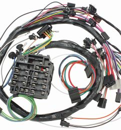 m h chevelle dash instrument panel harness w warning lights a c fuse box chevelle guages [ 1200 x 936 Pixel ]