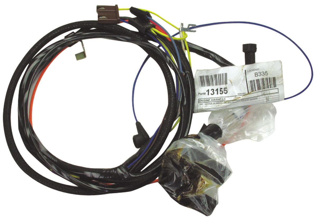 small resolution of m h 1967 chevelle engine harness v8 hei w gauges opgi com 1968 chevelle wiring harness diagram